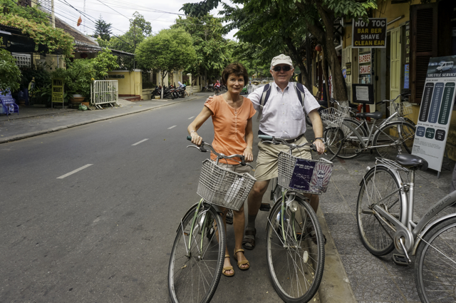 Karen und Steven - Bicycle Tour in Hoi-An